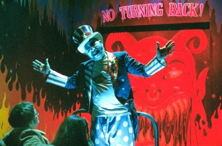 Haig helps create the funhouse atmosphere of 'House of 1000 Corpses.'